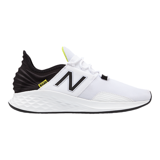 half off dec8f 80b22 New Balance Men s Fresh Foam ROAV Running Shoes - White Black   Sport Chek