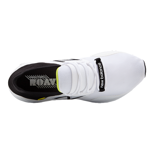 timeless design c84b2 e6d78 New Balance Men s Fresh Foam ROAV Running Shoes - White Black. (0). View  Description