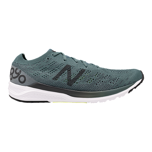 e00965d447c96 New Balance Men's M890 V7 Running Shoes - Green - DARIK AGAVE/ORCA