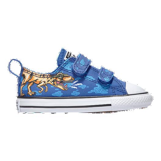 Converse Boy Toddler Chuck Taylor All Star 2V Shoes BlueBlackWhite