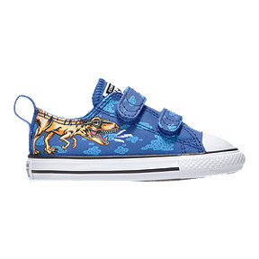 Converse Boy Toddler Chuck Taylor All Star 2V Shoes - Blue/Black/White