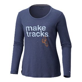 e3ad5c1a8 Columbia Women's Outdoor Elements Long Sleeve T Shirt - Nocturnal