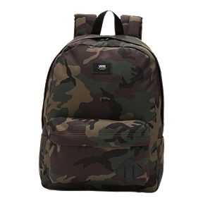 7dd719cce8 Vans Old Skool II Backpack - Camo Black