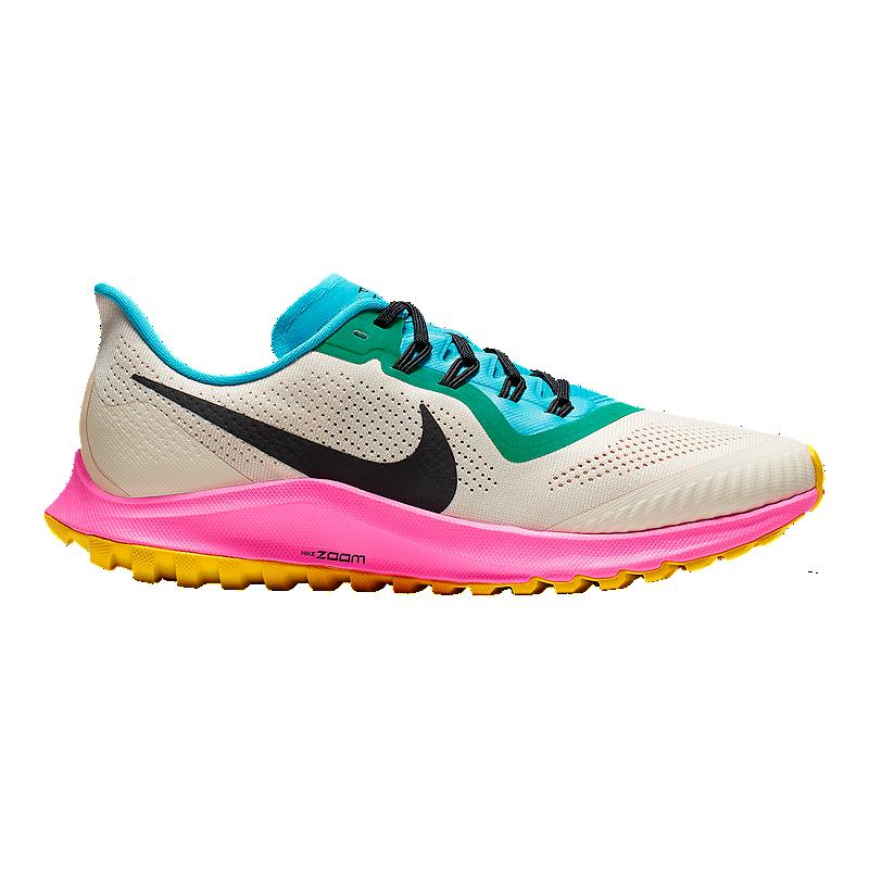 newest 5c970 a29f2 Nike Men's Air Zoom Pegasus 36 Trail Running Shoes - Black/Blue