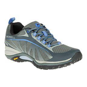 Merrell Women s Siren Edge Waterproof Hiking Shoes - Monument Grey 2a6577436c6