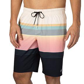 08f09eb117 O'Neill Men's Stripe Club Cruzer 20 Inch Volley Shorts