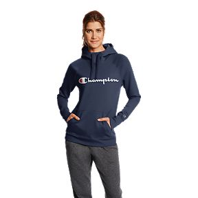 Champion Women s Powerblend Fleece Pullover Hoodie 38bac166be