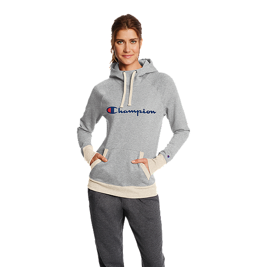 e78b66d5ccbd Champion Women s Powerblend Fleece Pullover Hoodie