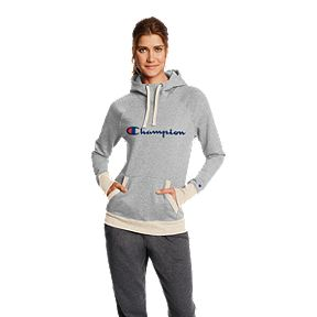 8684fed41a5d Champion Women s Powerblend Fleece Pullover Hoodie