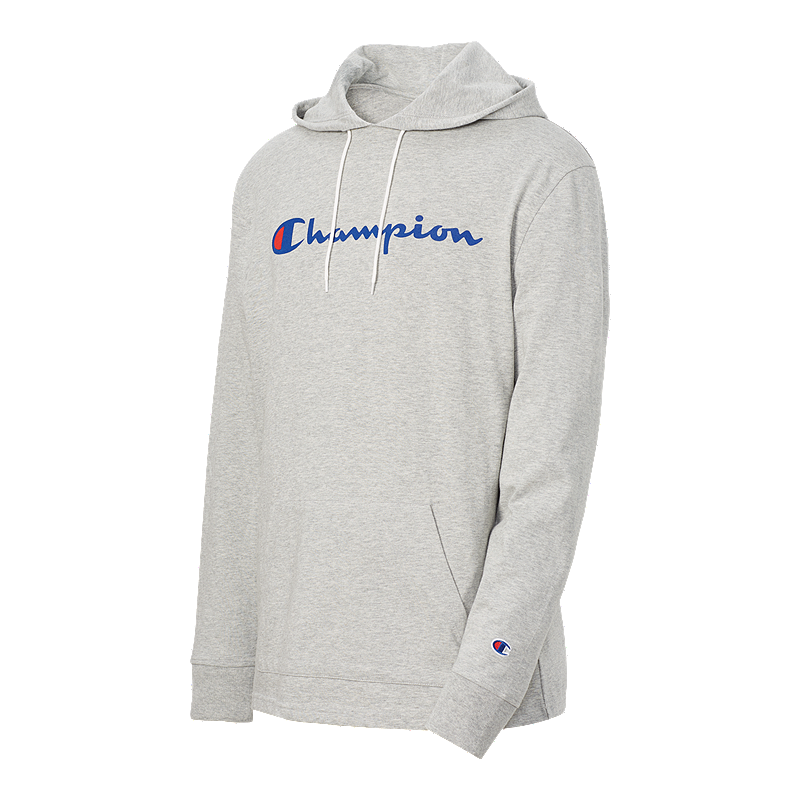 4978ef781 Champion Men's Heavyweight Jersey Pullover Hoodie