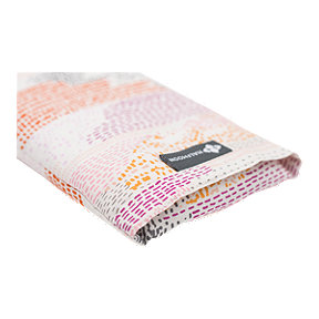 Halfmoon Wheat Berry Filled Cotton Eye Pillow-