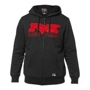b174066e7ce586 Fox Men s Race Team Sherpa Full Zip Hoodie - Black