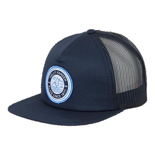 7f376599 Helly Hansen Flatbrim Trucker Hat - Catalina Blue - CATALINA BLUE
