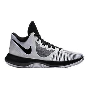 Nike Unisex Air Precision II Basketball Shoes - White Black 4cfaa4f28