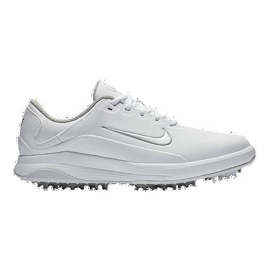 c1df4249a7fd53 Nike Golf Men s Vapor Golf Shoes - White Grey