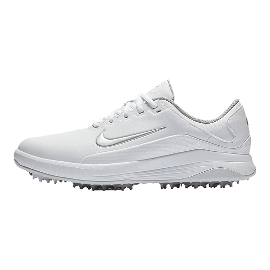 Nike Golf Men S Vapor Golf Shoes White Grey Sport Chek