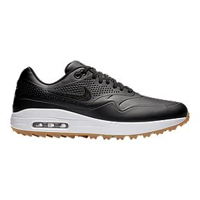 hot sale online 9061f 3b00b Nike Golf Men s Air Max 1G Golf Shoes - Black