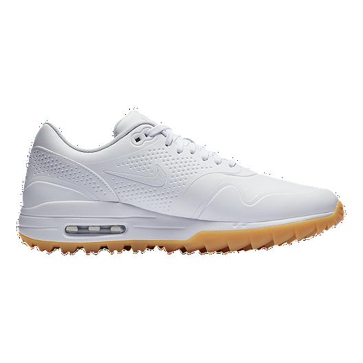 Nike Golf Men S Air Max 1g Golf Shoes White Sport Chek