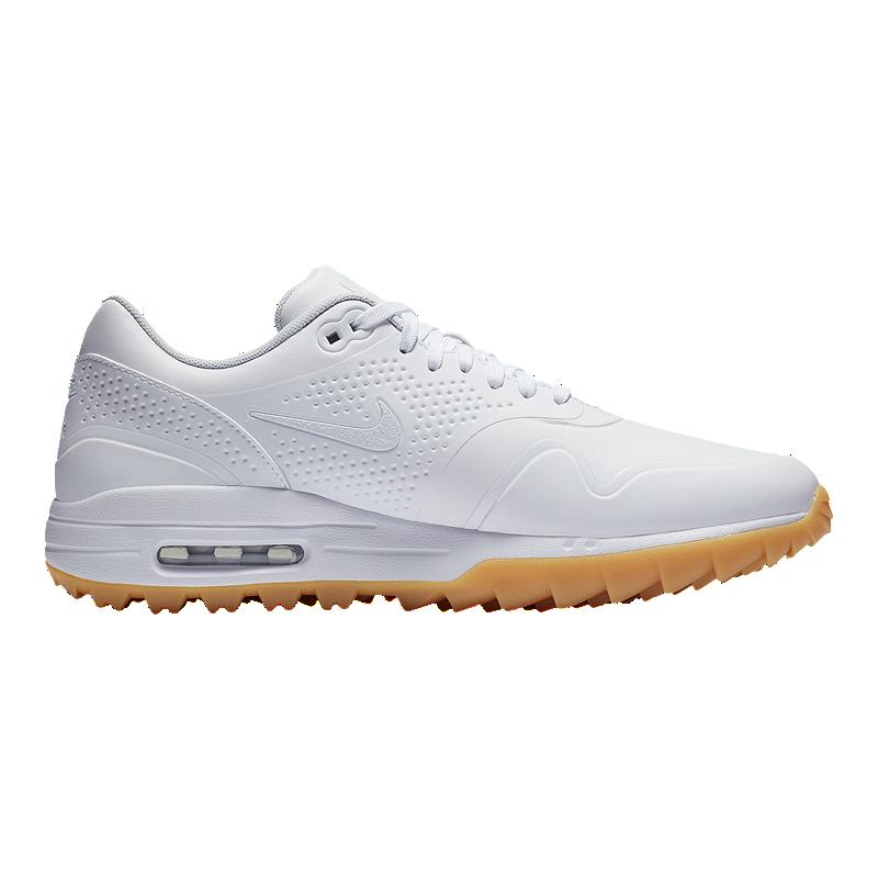 promo code eed2f 3b93a Nike Golf Men s Air Max 1G Golf Shoes - White   Sport Chek