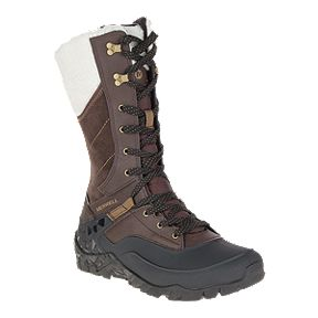 Merrell Women s Aurora Tall Ice+ Waterproof Winter Boots - Espresso aeb62564d