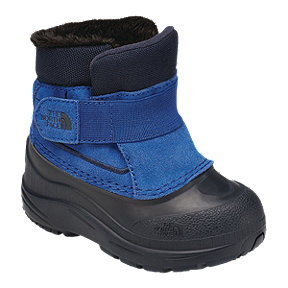 The North Face Boy Toddler Alpenglow Winter Boots - Turkish Sea/Urban Navy