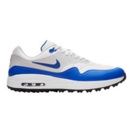a6f0ea146 Nike Golf Men s Air Max 1G Golf Shoes - Blue White