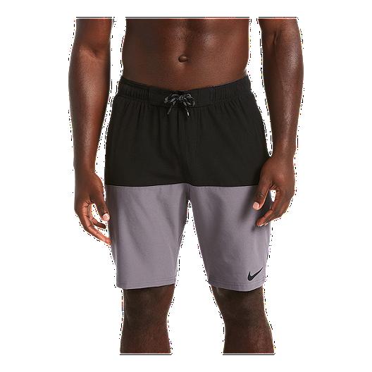 dbe4568c82327 Nike Men's Split 9 Inch Volley Shorts - Black | Sport Chek