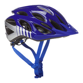Bell Traverse Men's Bike Helmet 2018 - Pacific Blue/Silver