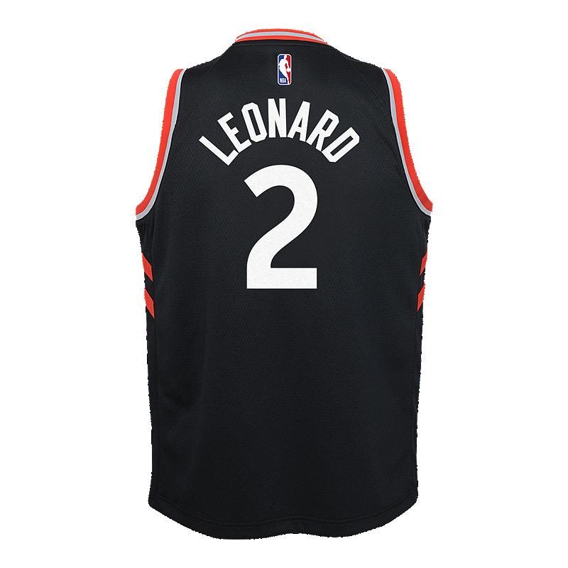 online store 8a214 f7766 Youth Toronto Raptors Leonard Swingman Statement Jersey ...