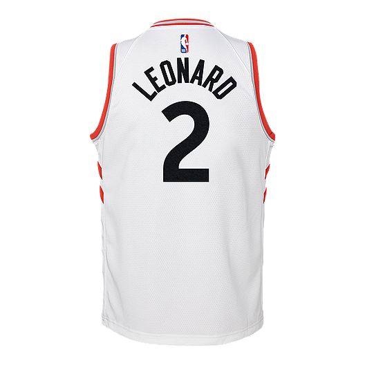 best website ac351 1ae56 Youth Toronto Raptors Leonard Swingman Association Jersey ...