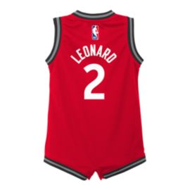 998328edbf7 Infant Toronto Raptors Replica Icon Leonard Onesie Jersey | Sport Chek