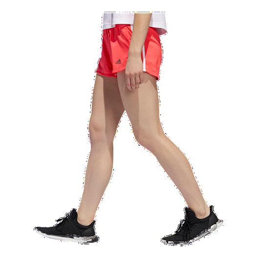 adidas Women's 3 Stripe Woven Shorts
