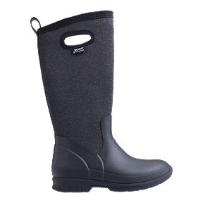 e07a0f2246a Bogs Women s Crandall Tall Insulated Rain Boots - Black Multi