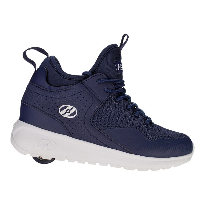 24047b83dc9c Heely s Boy s Piper Shoes - Navy White (HEELYS 889642953604) photo