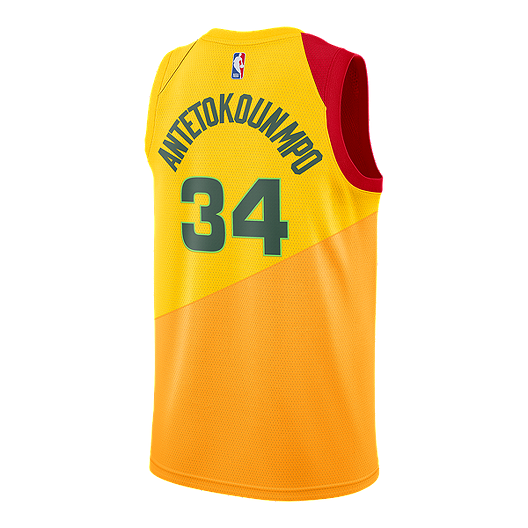 quality design 6190d fb276 Milwaukee Bucks Nike Men's Antetokounmpo City Edition ...