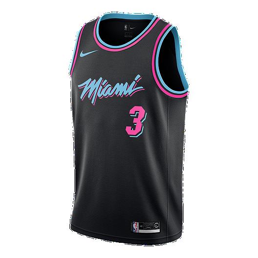 e494a60be9f4 Miami Heat Nike Men s Wade City Edition Swingman Jersey