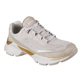 2a8e6e2417ba Skechers Women s One Bora Exalting Shoes - Taupe Gold