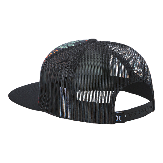 c2a2278ea Hurley Men's Mixtape Snapback Hat - Black/Floral
