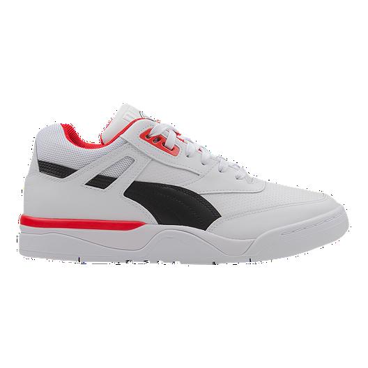 4aab9b38 PUMA Men's Palace Guard Shoes - Puma White/Black/Red | Sport Chek