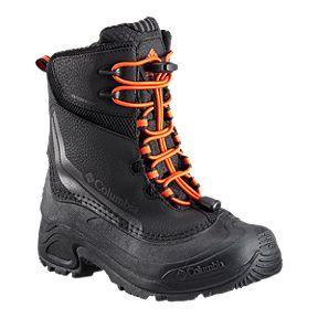 8c1d8f7d522e Columbia Boys  Bugaboot IV Winter Boots - Black Orange