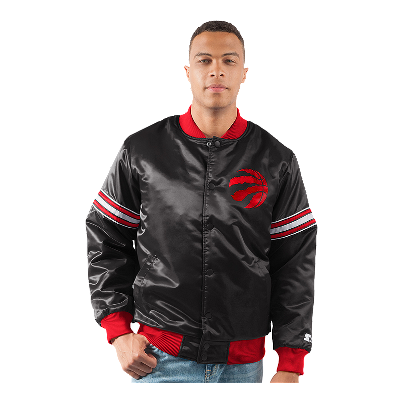 Toronto Raptors Men s Starter Satin Jacket  09170bf67
