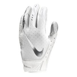 691ae367c2e Nike Vapor Jet 5.0 Football Glove - White Chrome