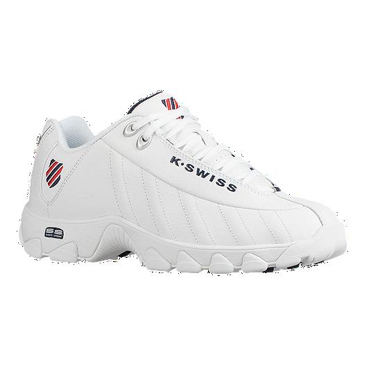 K Swiss Men's ST239 Shoes WhiteRedBlue