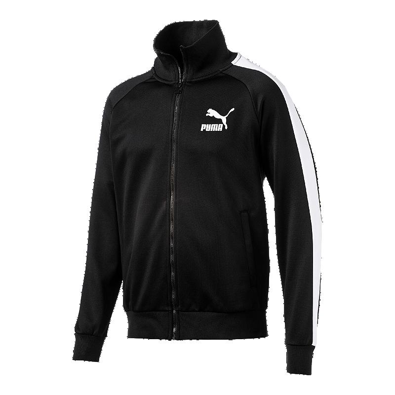 4f5e200ff PUMA Men's Iconic T7 Track Jacket - PUMA Black   Sport Chek