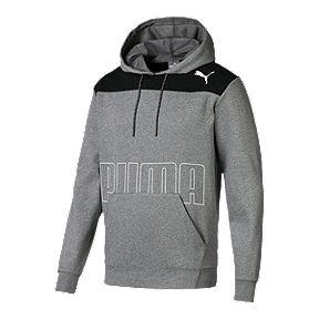 38f3a5816 PUMA Men s Modern Sports Pullover Hoodie - Medium Grey Heather