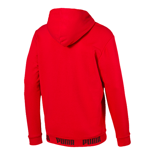 17462ca366 PUMA Men's Amplified Pullover Hoodie - High Risk Red
