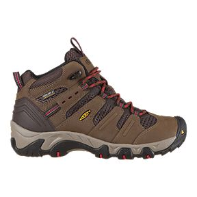 029fd060fdf8 Keen Women s Koven Mid Waterproof Hiking Boots - Dark Earth Crimson