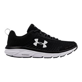 new arrival 39dfa ee8a0 Under Armour Women s Assert 8 Training Shoes - Black White