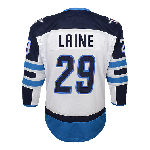 size 40 aabbe 70952 Youth Winnipeg Jets Laine Replica White Jersey