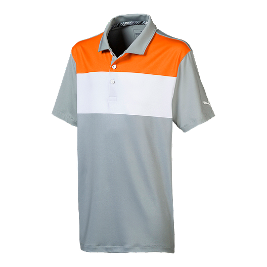 f852e9ce8 Puma Golf Boy s Nineties Polo